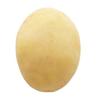 Pomme de terre isolé sur fond blanc