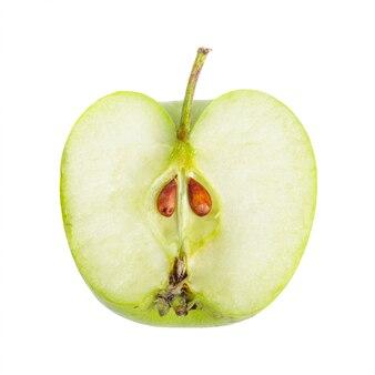 Pomme verte en tranches