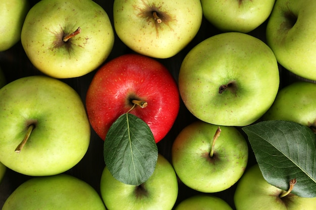 Pommes juteuses