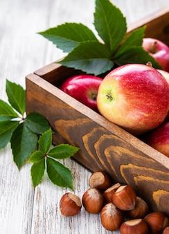 Pommes et noisettes