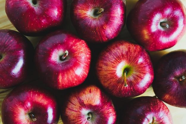 Les pommes rouges les plus regardées