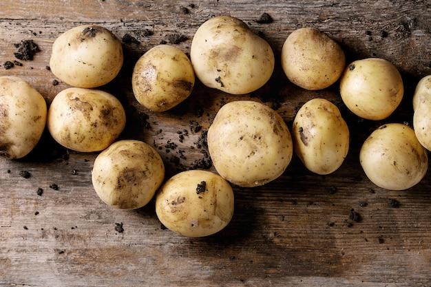 Pommes de terre crues biologiques