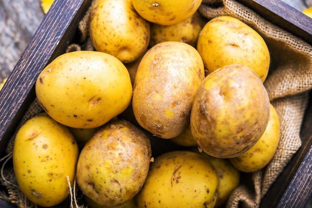Pommes de terre d'idaho