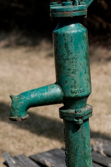 Pompe à eau à winnipeg beach, manitoba, canada