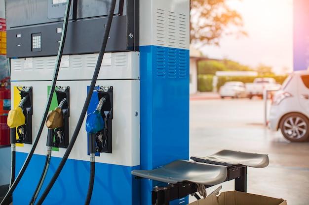 Pompe à huile au distributeur diesel de buse de carburant de voiture de station
