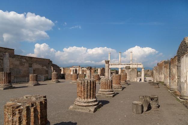 Pompéi italie parc archéologique pompéi naples italie