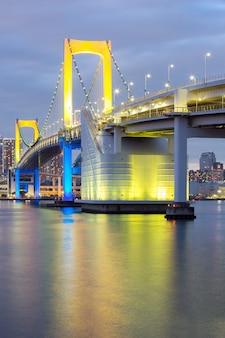 Pont arc-en-ciel de tokyo
