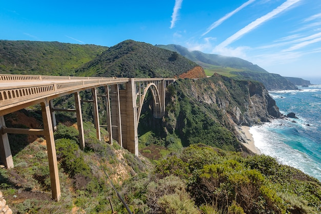 Pont bixby, big sur caliofornia