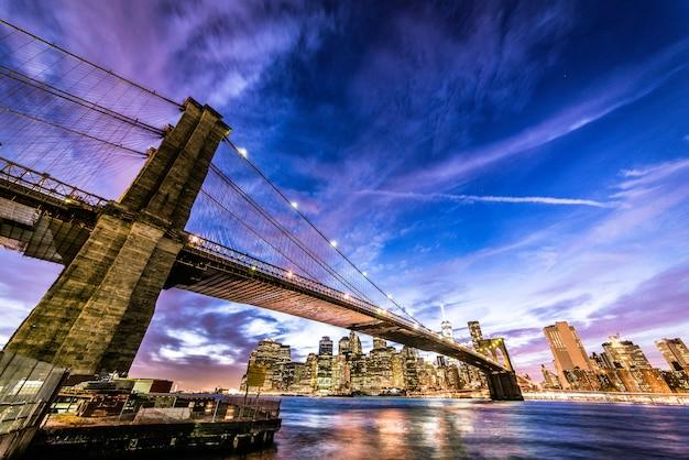 Pont de brooklyn, new york