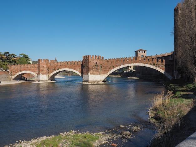 Pont de castelvecchio aka pont scaliger à vérone