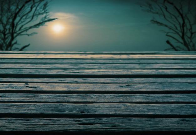Pont avec le coucher de soleil