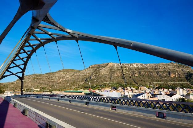 Pont de cullera sur la rivière xuquer jucar de valence