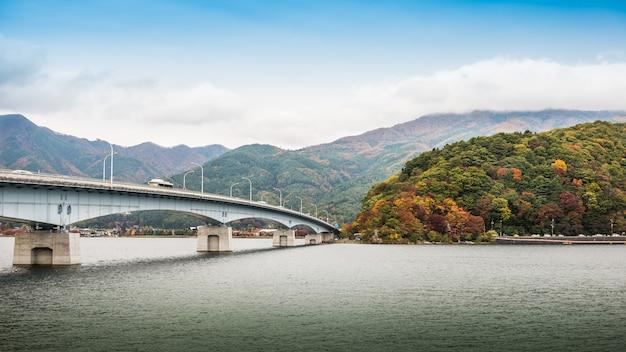 Pont du lac kawaguchiko