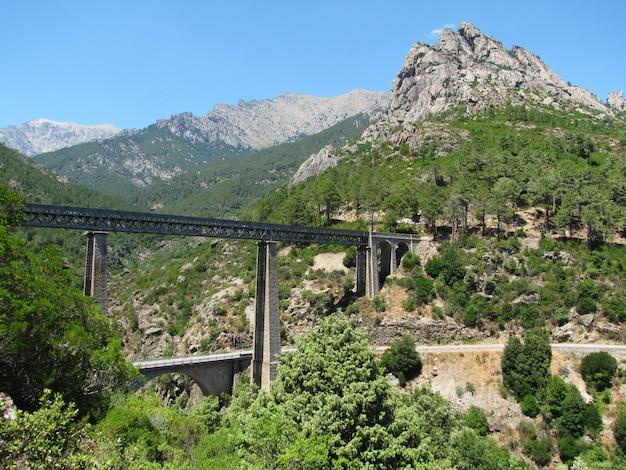 Pont ferroviaire conçu par l'architecte gustave eiffel