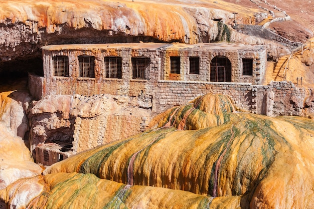 Pont des incas près de mendoza