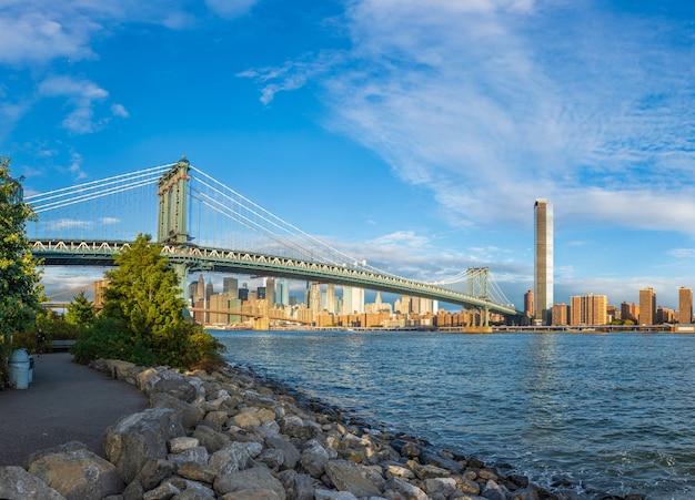 Pont de manhattan new york usa