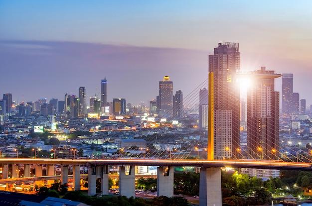Pont rama ix et ville