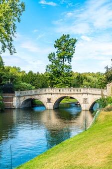 Pont sur la rivière cam à cambridge