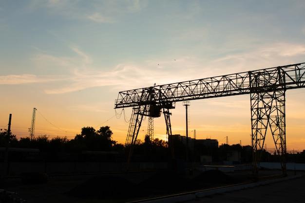 Pont roulant à la gare