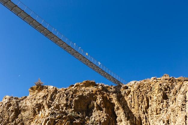 Pont suspendu, himalaya