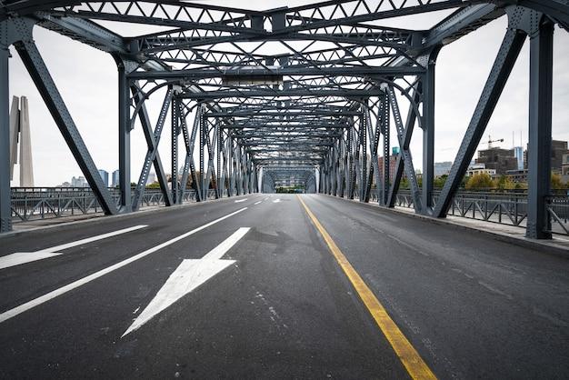 Le pont waibaidu à shanghai, chine