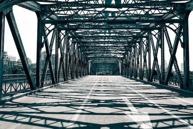 Le pont waibaidu à shanghai