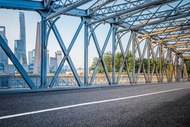 Le pont de waibaidu à shanghai