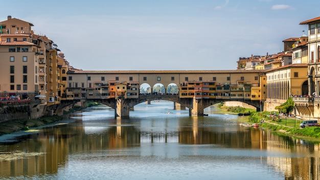 Ponte vecchio à florence - italie