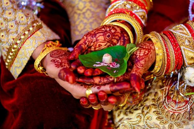 Pooja de mariage indien