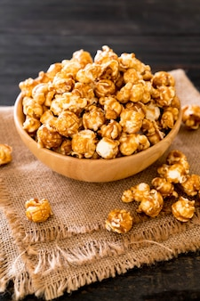 Pop-corn au caramel