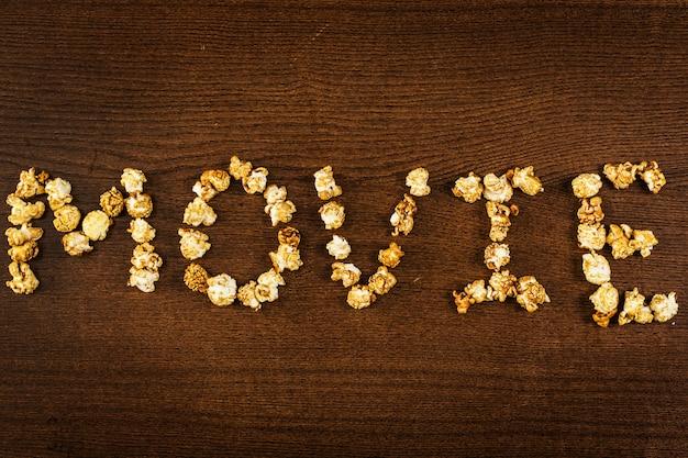 Pop-corn délicieux, mot de film