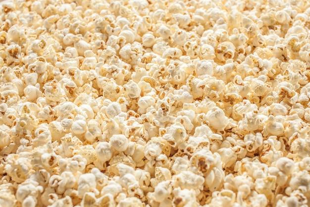 Popcorn bpopcorn bokeh texture d'arrière-plan texture de fond.