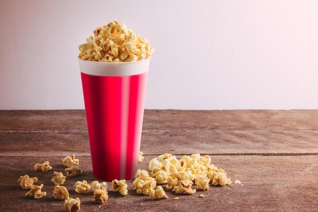 Popcorn dans le seau
