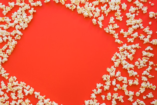 Popcorn formant espace carré