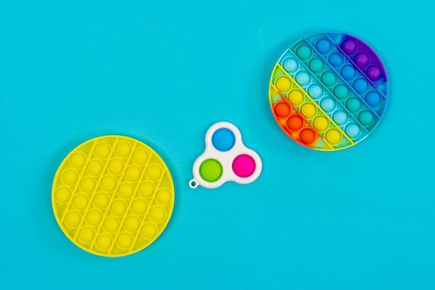 Popit et fossette simple. jouet anti-stress
