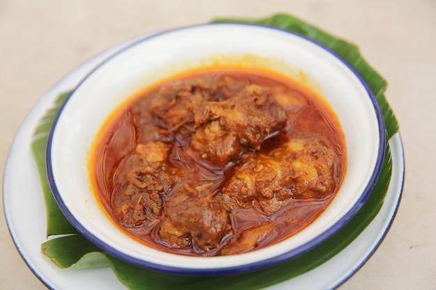 Porc au curry style thaïlandais du nord - khang hung le