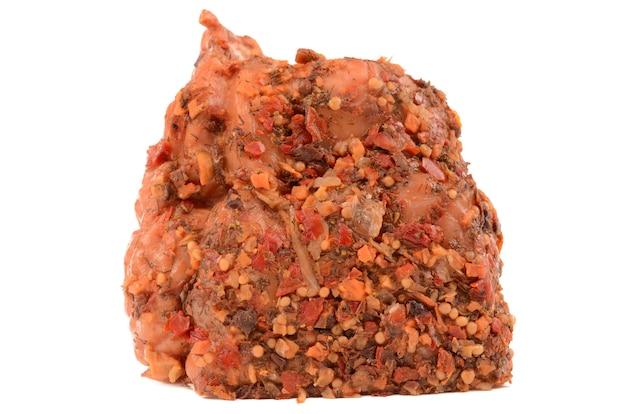 Porc bouilli aux épices