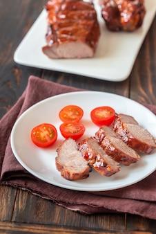 Porc char siu - porc barbecue chinois