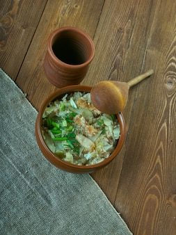 Porridge estonien kapsapuder