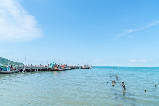 Port de bateau de pêche