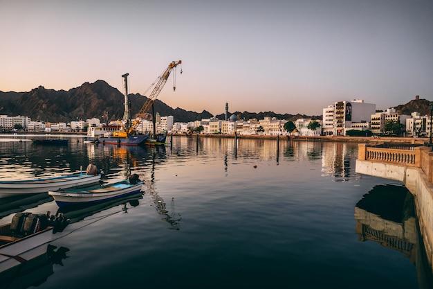 Port de mascate à oman