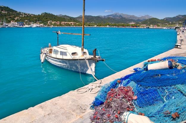 Port de plaisance d'andratx à majorque, îles baléares