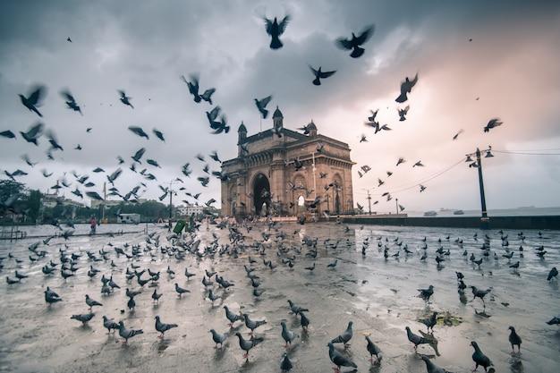 Porte d'entrée de l'inde à mumbai