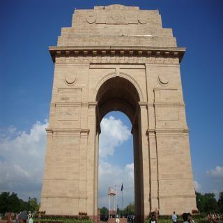 Porte de l'inde en inde