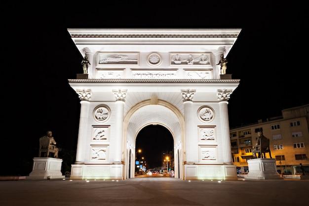 Porte de l'indépendance, skopje