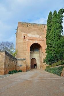 Porte de la justice de l'alhambra à grenade