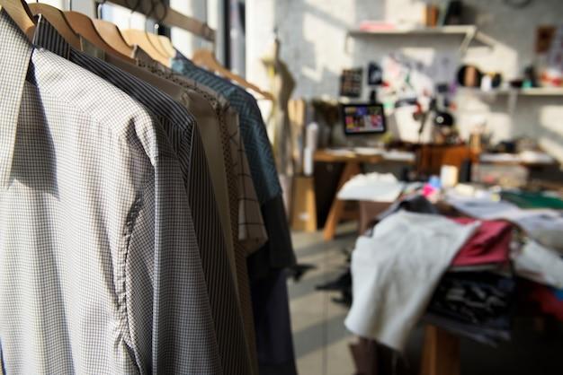 Portemanteau costume costume outfit closet concept