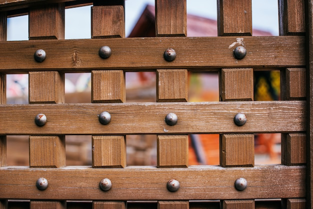 Portes anciennes en bois