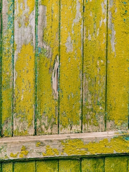 Portes vertes texture bois vieille peinture irradiée minable