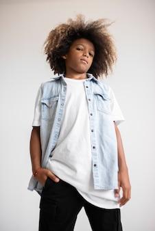 Portrait d'adolescent cool